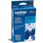 Картридж Brother DCP-145C/165C, MFC-250C/290C синий LC980C (Cyan), 260 стр. (o)