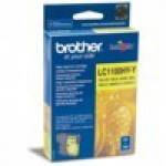 Картридж Brother DCP-5890/6490/6890/6990CW желтый 750 стр LC1100HYY