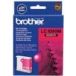 Картридж Brother DCP130C/330С, MFC-240C/5460CN LC1000M 500 стр. пурпурный (o)