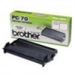 Картридж с пленкой BROTHER Fax T72, T74, T76, T78, T84, T86, T94, T96, T98, 645, 685 (о) PC-70