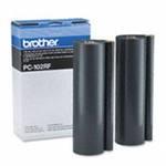 Т/пленка д/факса BROTHER 1150/1150P/1200P/1250/1350M(2 x 200 м) PC-102RF(o)
