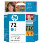 HP № 72 Фотокартридж  с голубыми чернилами Vivera, 69 мл. для Designjet T1100/T610(c9398a)